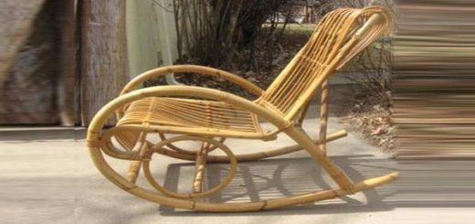 Add a pride to your home by restoring your antique rocking chair