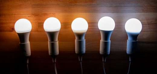 Brighten your rooms with LED bulbs